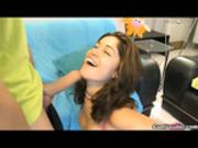 Latina Laura Moreno getting banged by a big hard Dick