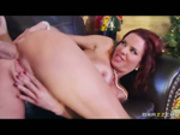 Veronica Avluv in Squirting On Santa