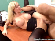 Holly Sampson in my first sex teacher