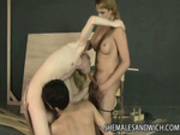 Horny Shemale Threeway With Angelica And Isabella
