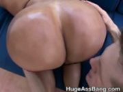 Big Booty Latina Amateur Slut Bent Over Sucking Dick