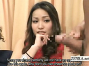Subtitle CFNM Japanese amateur gyaru strange inspection