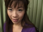Smiling amateur from japanese having fun -2