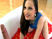 Lily Carter swallows his shlong to the root