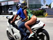 Butt naked girl Sophia Steele goes for one hell of a ride