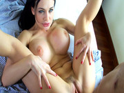 Buxom whore Aletta Ocean got hard pussy pounding she craves