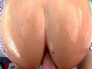 Kaylee Evans aka AJ Applegate anal fucked doggy POV style
