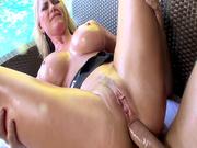 Alena Croft enjoys her very first anal scene ever