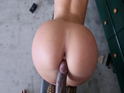 Sexy ass babe Jada Stevens takes foot-long python doggystyle