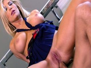 Tasha Reign gets her tight ass drilled for the first time