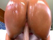 Big ass MILF Mellanie Monroe takes long dick in her pussy