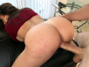 Big ass latina Julianna Vega taking it hard doggy style