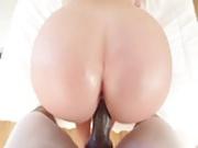Fat Ass White Interracial Dream Fuck - Cum on Ass