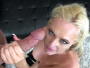 Blonde milf Alena Croft takes a big load from a big hard cock