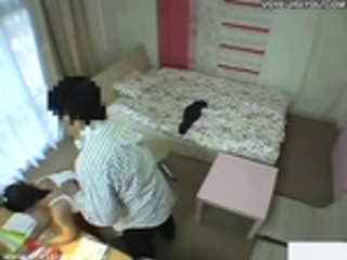 Secret hidden cameras students room