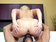 AJ Applegate twerks on face getting her pussy licked