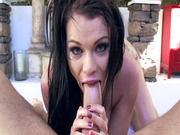 Peta Jensen does some nice cock sucking in POV