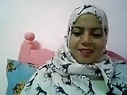 Arab woman naked on webcam