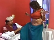 INDIAN KING N QUEEN DRESSED TO FUCK N CUM