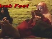 Arabic Feet Spying Milf Voyeur