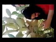 Tunisian bitch suck cock