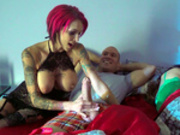 Horny seductress Anna Bell Peaks is turned on when the lights are off