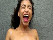 Veronica Vain masturbates and squirts all over Veronica Rodriguez