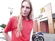 STP Daddy Picks Her Up From Work And Then They Go And Fuck !