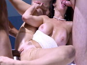 Veronica Avluv gets gangbanged by the Ghostbusters team