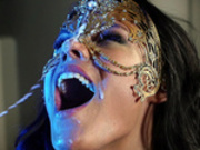 Peta Jensen gets absolutely drenched in cumshots