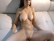 Karter Foxx having a big cock buried deep inside her flawless pussy