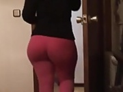 Wife in leggings - ligar seduction