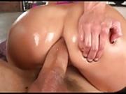 Big tit hot milf gets double teamed