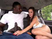 Colombian hottie Evie Olson is amazed by that big black cock