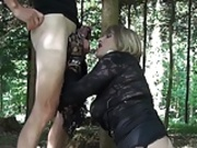 Beautiful Lyvia outdoor fuck