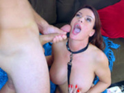 Submissive milf Diamond Foxxx takes a good facial cumshot