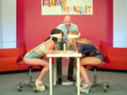 Game Night Shenanigans - Nicole Aniston, Peta Jensen - Brazzers HD