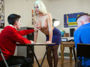 Teacher Tease with Blanche Bradburry