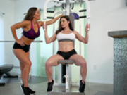 Personal Trainers: Session 2 with Abigail Mac and Kendra Lust