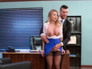 Business Too Casual Featuring Britney Amber - Brazzers HD
