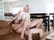 Zoe Clark fucking her boyfriend while hiding from her dad