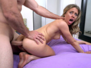 Anya Olsen getting an intense butt fuck doggystyle