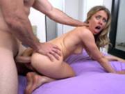 Anya Olsen getting an intense butt fuck doggystyle