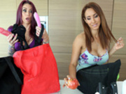 Grocery Store Adventures with Isis Love and Monique Alexander - Reality Kings HD