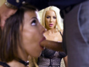 He Makes Wifey Watch Starring Adriana Chechik and Nicolette Shea - Brazzers HD