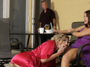 The Nympho Milf Awakens with Cory Chase and Evelin Stone