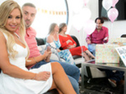 Busted At The Babyshower starring Kendall Kayden and Keiran Lee