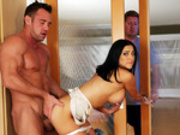 Audrey Bitoni is Secretly Fucking The Mover