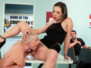 A Lunchtime Licking Jenna Sativa & Riley Nixon - Brazzers HD
