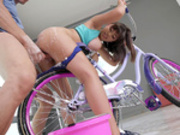 Bicycle Boning Starring Ella Knox - Baby Got Boobs HD